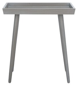Nonie Tray Accent Table Item Acc5701c Color Slate Grey