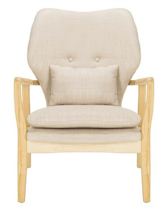TARLY ACCENT CHAIR Item: ACH9500B Color: Beige / Natural