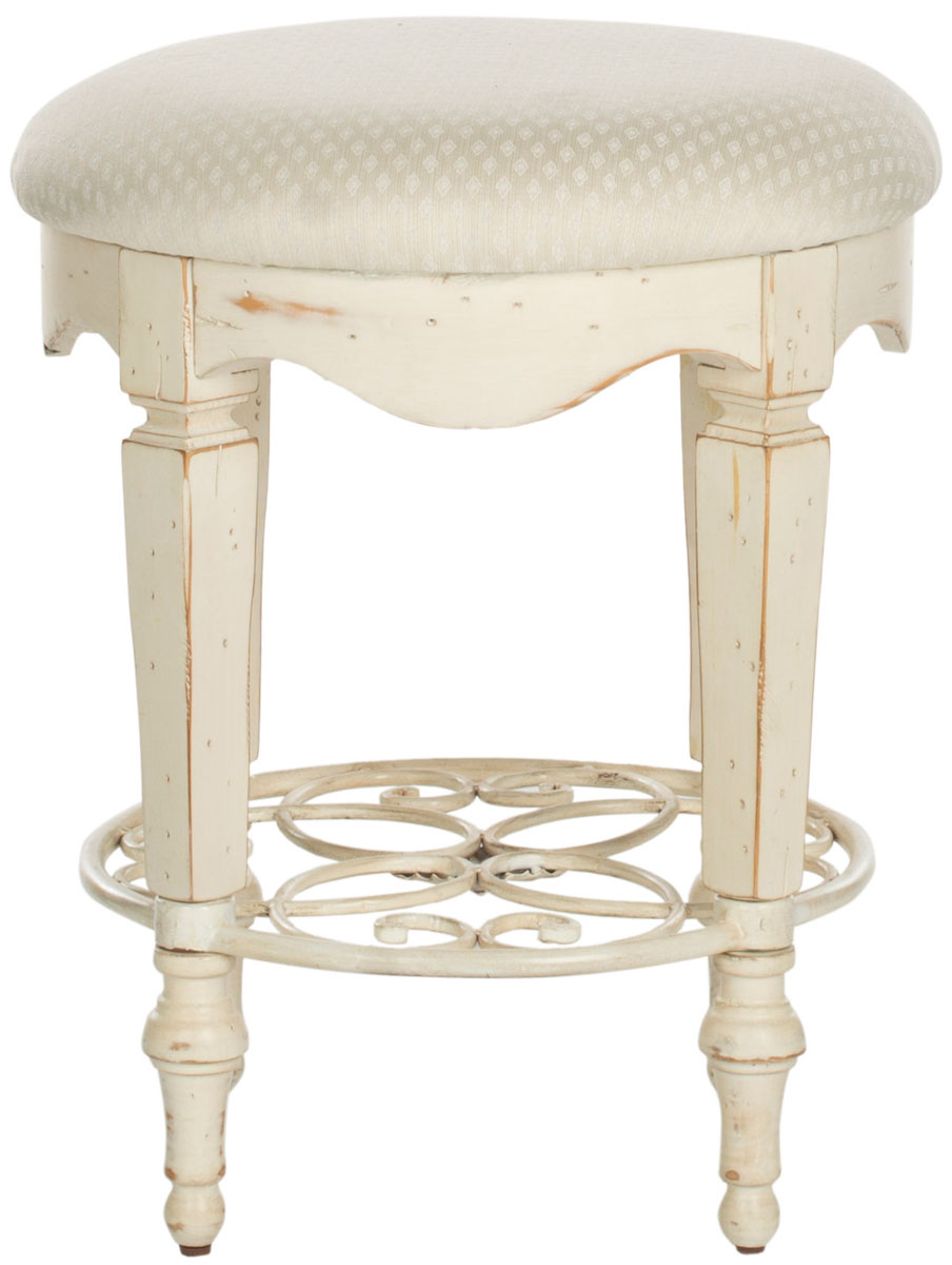 color by georgia safavieh front stools stool vanity white furniture