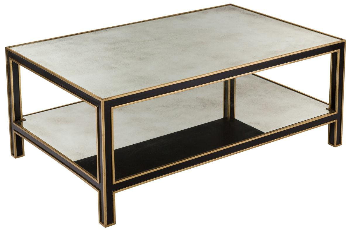 Cambria Mirrored Coffee Table Amh4567a Tables