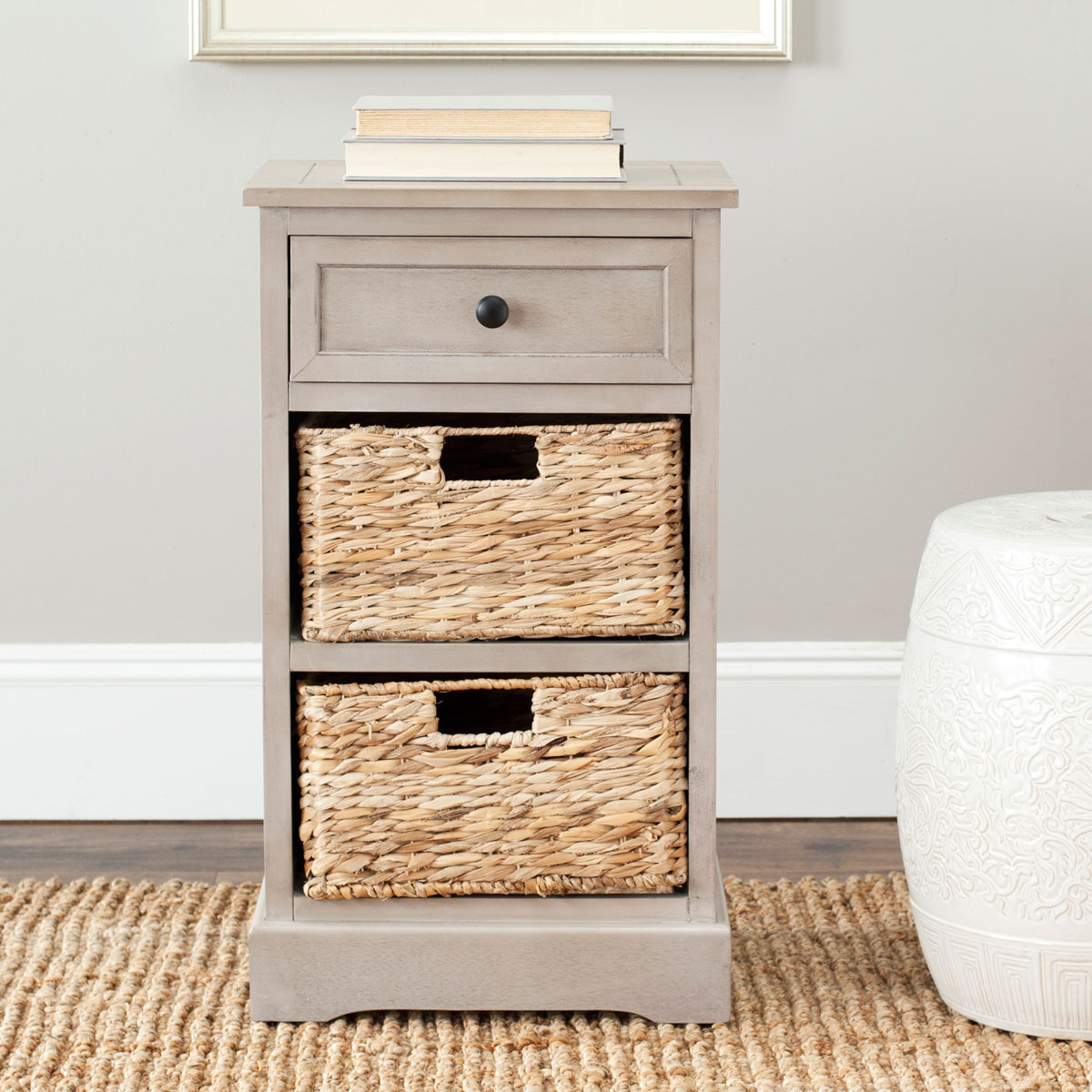 CARRIE SIDE STORAGE SIDE TABLE AMH5700A Happimess