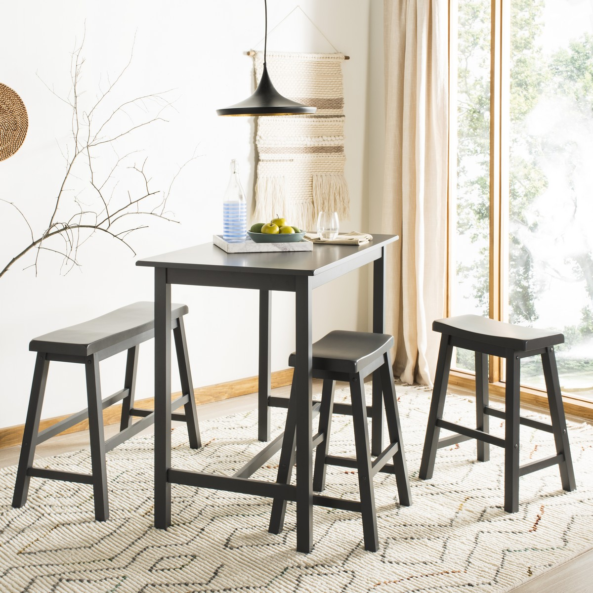 Enjoyable Amh8503C Dining Tables Furniture By Safavieh Home Interior And Landscaping Dextoversignezvosmurscom