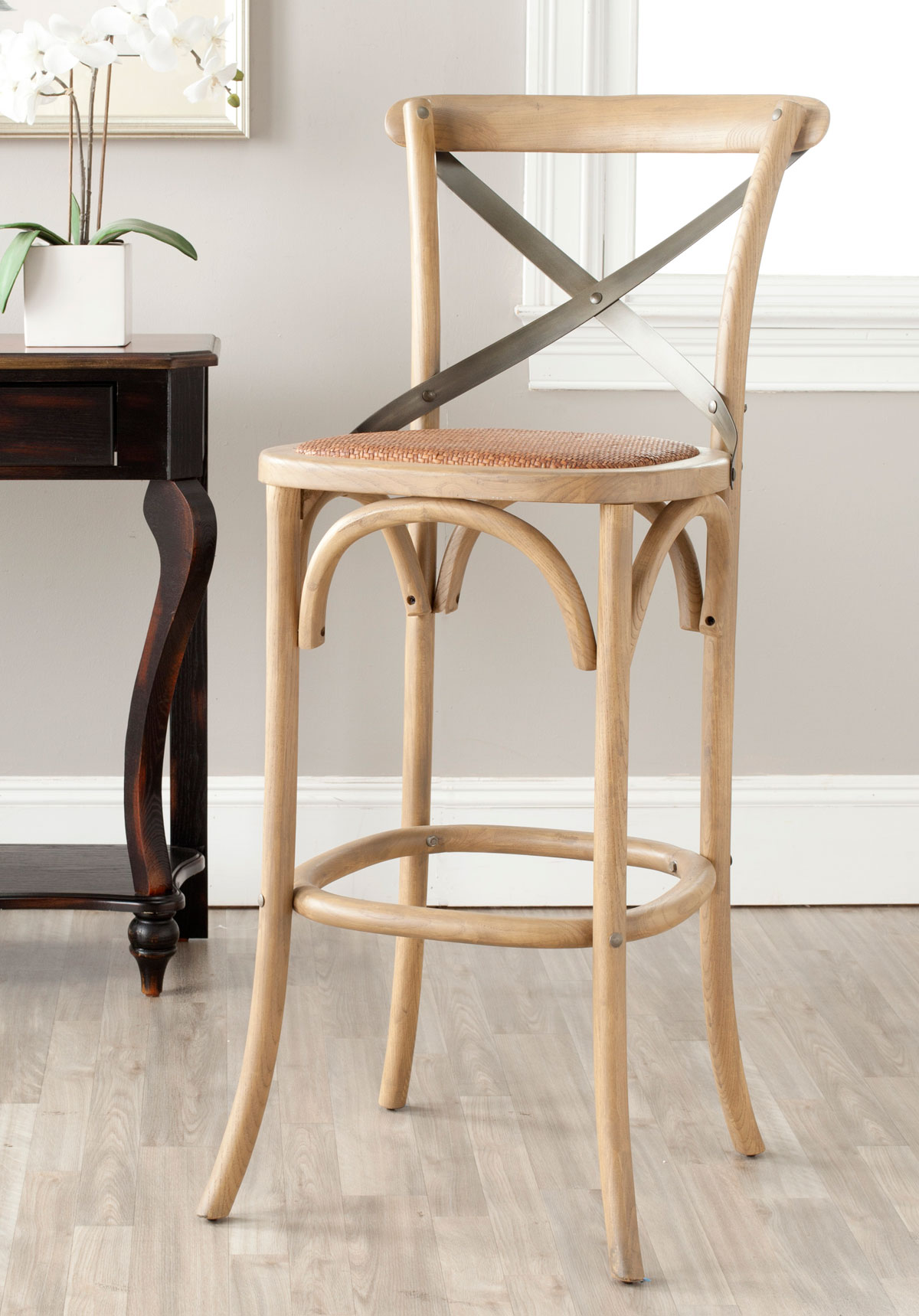 Amh9503c Bar Stools Furniture By Safavieh
