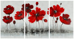 RED FLOWER 3 PAINTING