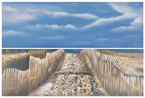 SEA AND SAND DIPTYCH WALL ART