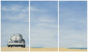 DUNE BUGGY TRIPTYCH WALL ART
