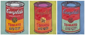 SOUPS ON TRIPTYCH WALL ART