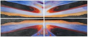 SAILORS PARADISE 4 PC WALL ART