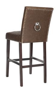 NIKITA BAR STOOL Item: BST6302D SET2 Color: Brown