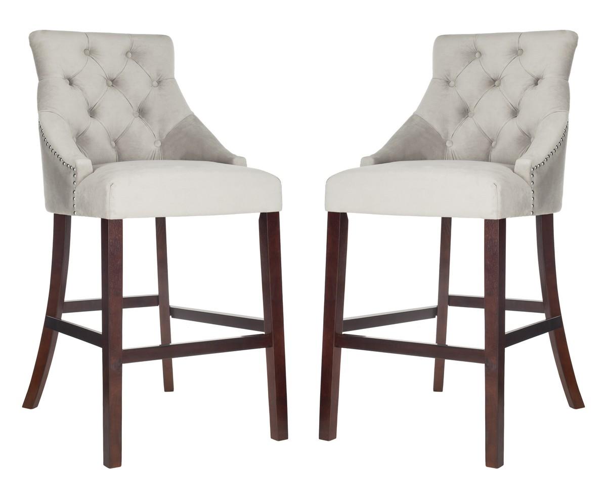 Astounding Bst6304B Set2 Bar Stools Furniture By Safavieh Alphanode Cool Chair Designs And Ideas Alphanodeonline