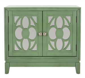 Shannon 2 Door Chest Item Chs9203c Color Turquoise Mirror