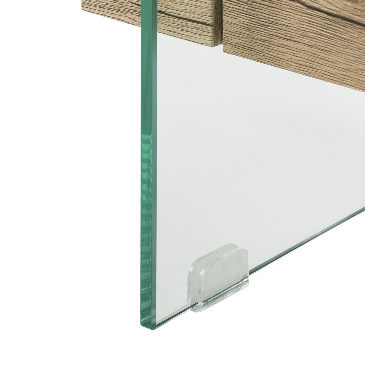 Kayley Rectangular Modern Glass Coffee Table