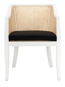 cdad9b769859 Rina Dining Chair Item: DCH9501B Color: White / Natural