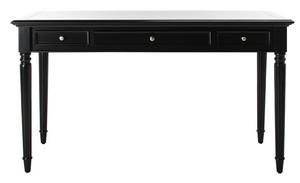CONSTANCE 3 DRAWER DESK Item: DSK4601C Color: Black