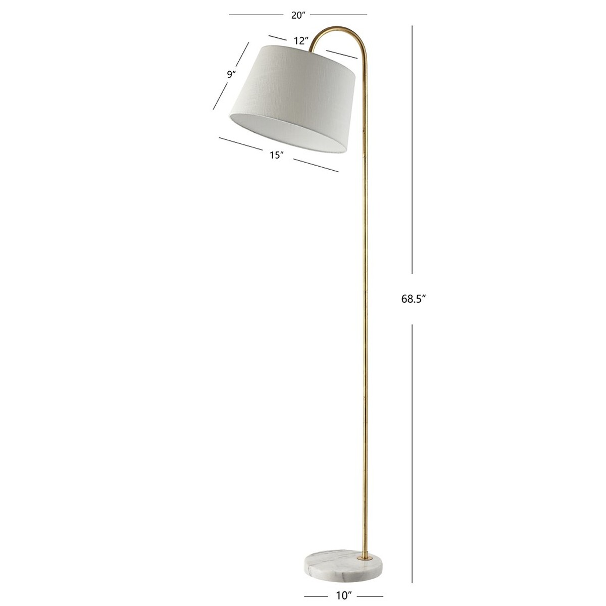 Fll4071a Floor Lamps Lighting By Safavieh