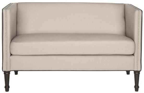 Stupendous Fox6205A Loveseats Settees Furniture By Safavieh Customarchery Wood Chair Design Ideas Customarcherynet