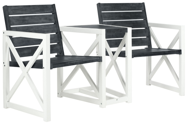 Enjoyable Fox6707K Garden Benches Furniture By Safavieh Frankydiablos Diy Chair Ideas Frankydiabloscom