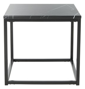 Wonderful BAIZE END TABLE Item: FOX6023B Color: Black