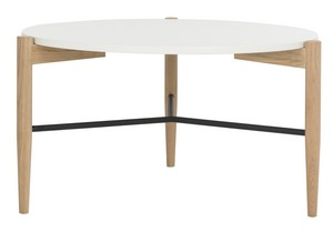 THYME ROUND COFFEE TABLE Item: FOX8204A Color: WHITE