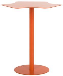 Color: ORANGE. FEMI END TABLE