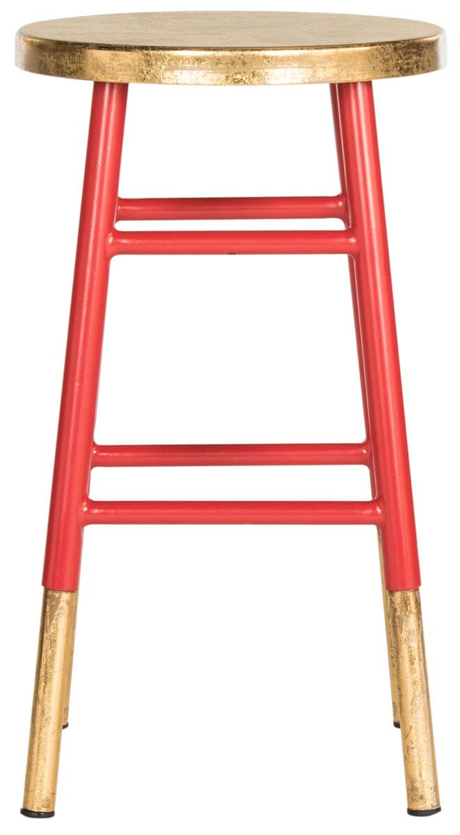 red bar stool  kitchen stools  safavieh