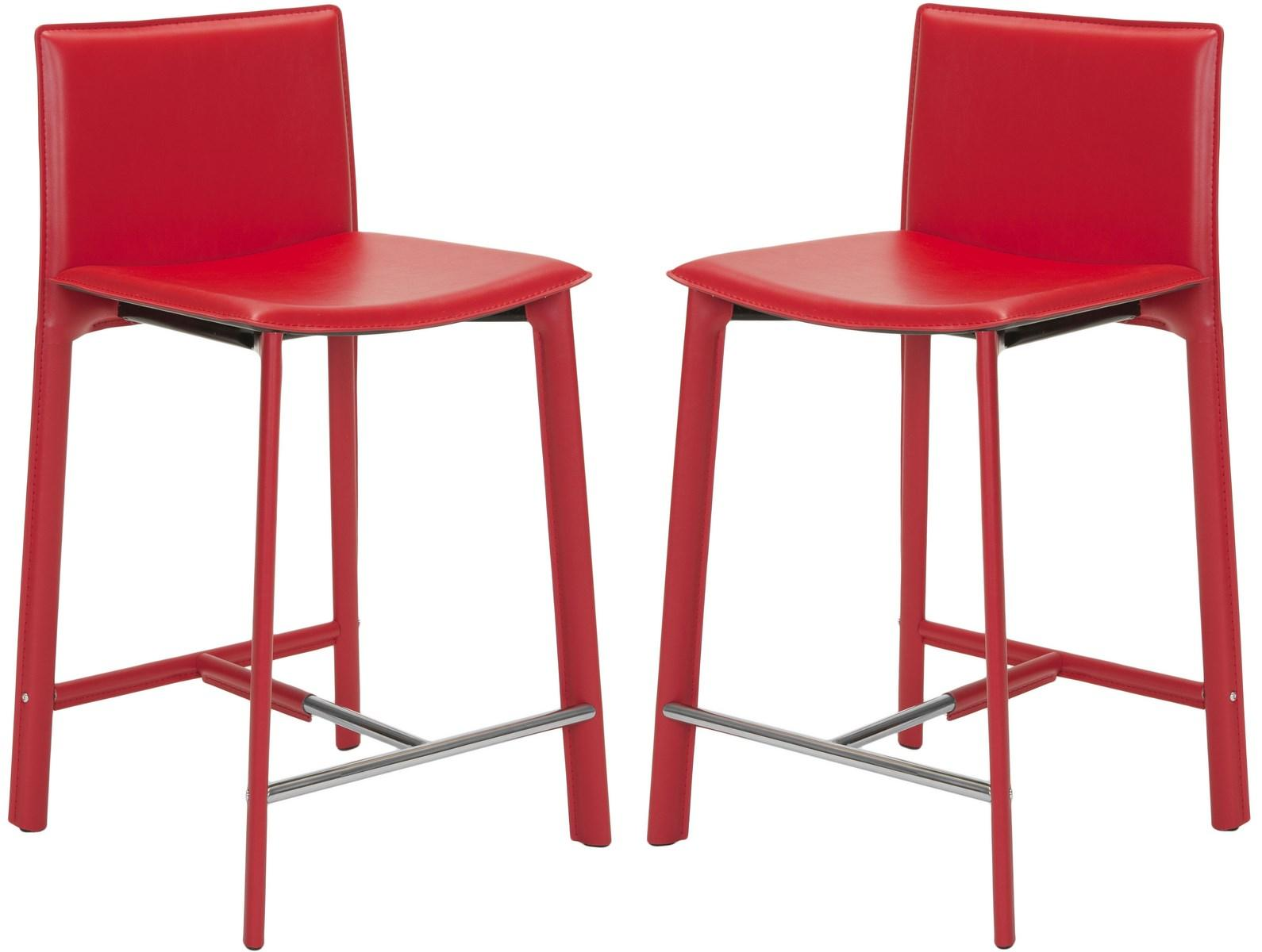Fox2005r Set2 Counter Stools Furniture By Safavieh