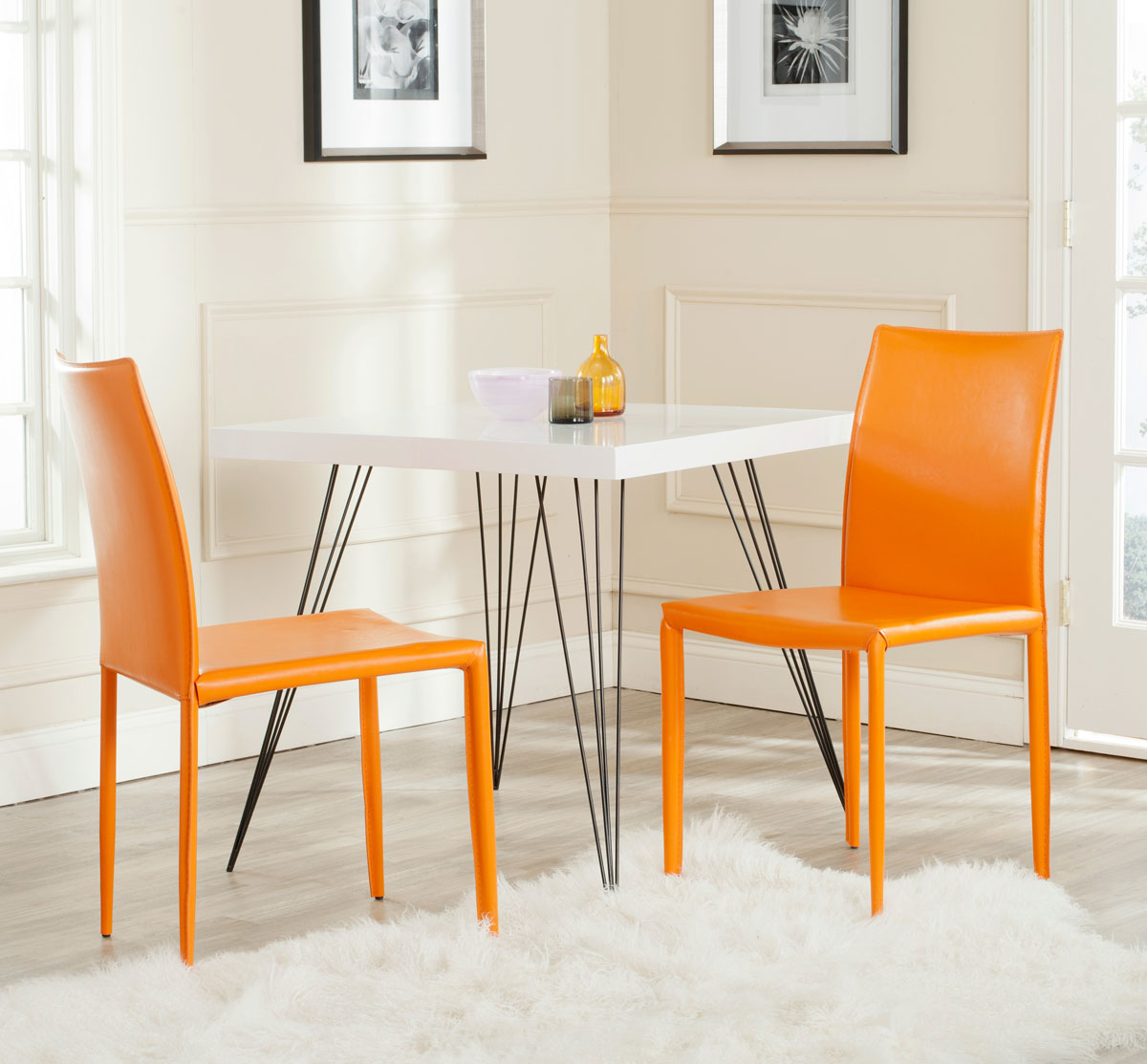 fox2009g set2 dining chairs furniture by safavieh. Black Bedroom Furniture Sets. Home Design Ideas