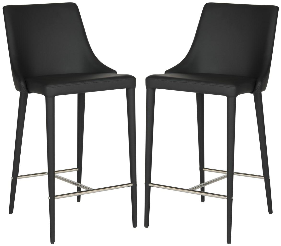SUMMERSET COUNTER STOOL FOX2017B-SET2 COUNTER STOOLS. Color Black  sc 1 st  Safavieh.com & FOX2017B-SET2 Counter Stools - Furniture by Safavieh islam-shia.org