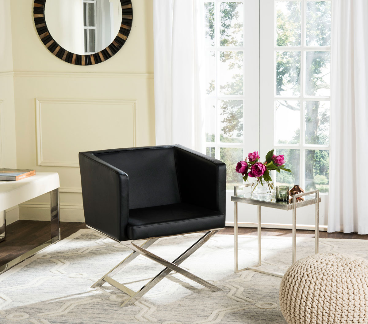 FOX2033D Accent Chairs - Furniture by Safavieh