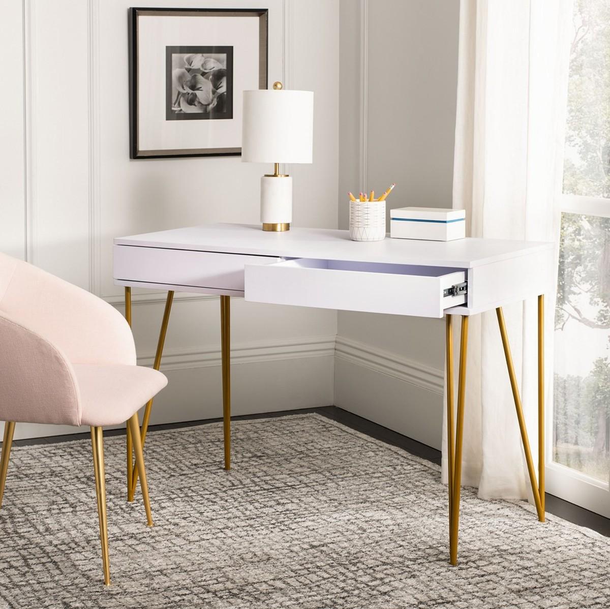 Fox2238c Desks Furniture By Safavieh