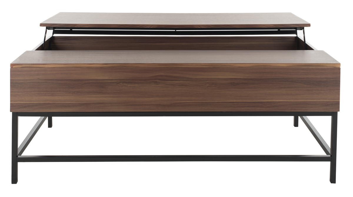 GINA CONTEMPORARY LIFT TOP COFFEE TABLE FOX2239A COFFEE TABLES. Color: Dark  Oak / Black. Save