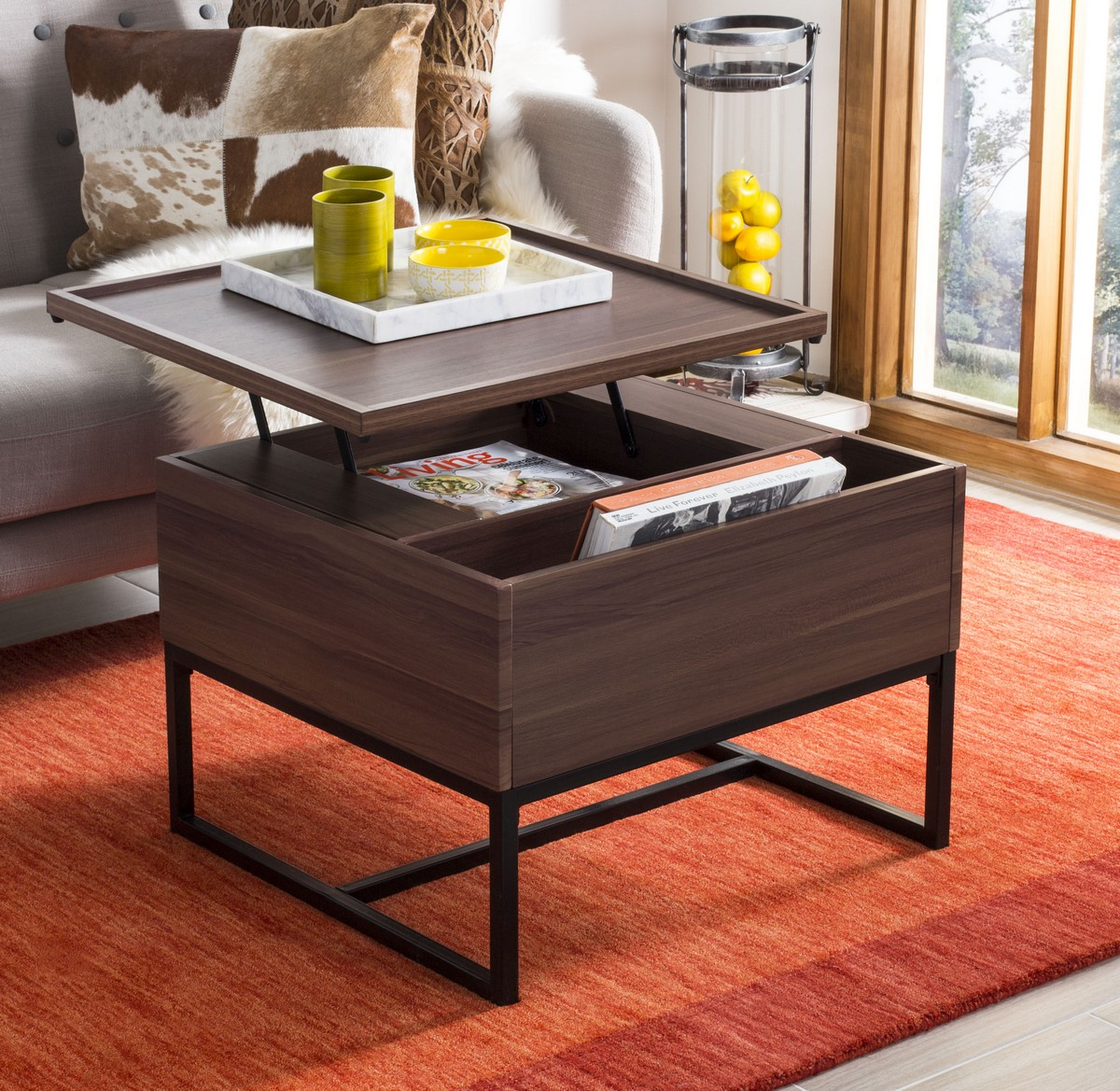 FOX2240A Coffee Tables Furniture by Safavieh