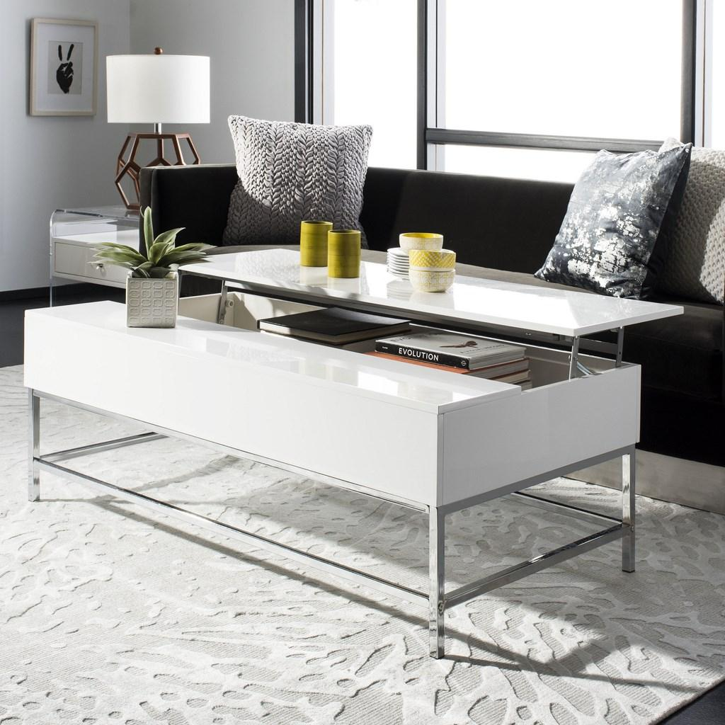 Magnificent Fox2241A Coffee Tables Furniture By Safavieh Ibusinesslaw Wood Chair Design Ideas Ibusinesslaworg