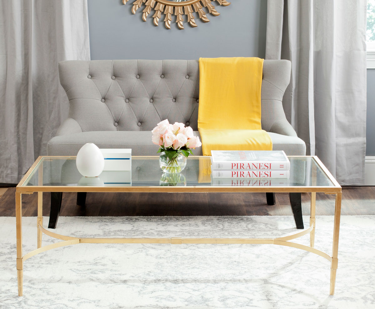 The Epitome Of Sleek Sophistication, The Antwan Coffee Table Brings A  Designer Look To The Living Room Or Entry Hall. A Wonderful Example Of  Metal Artistry, ...