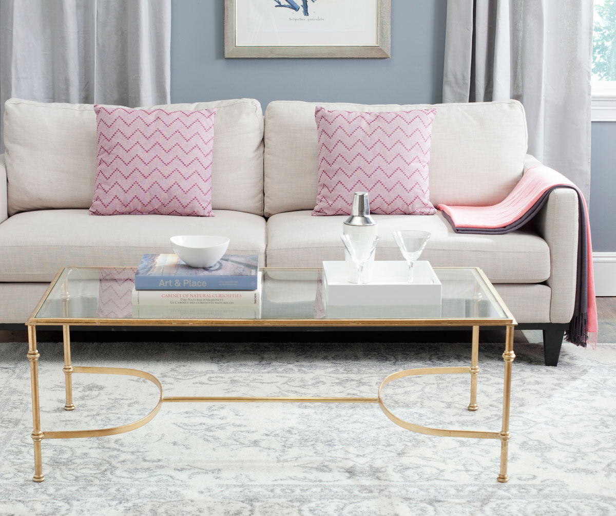 FOX2549A Coffee Tables - Furniture by Safavieh  Safavieh