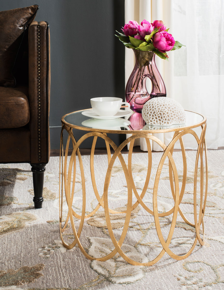 overstock today table product shipping free metallic garden accent knight gold christopher grafton home