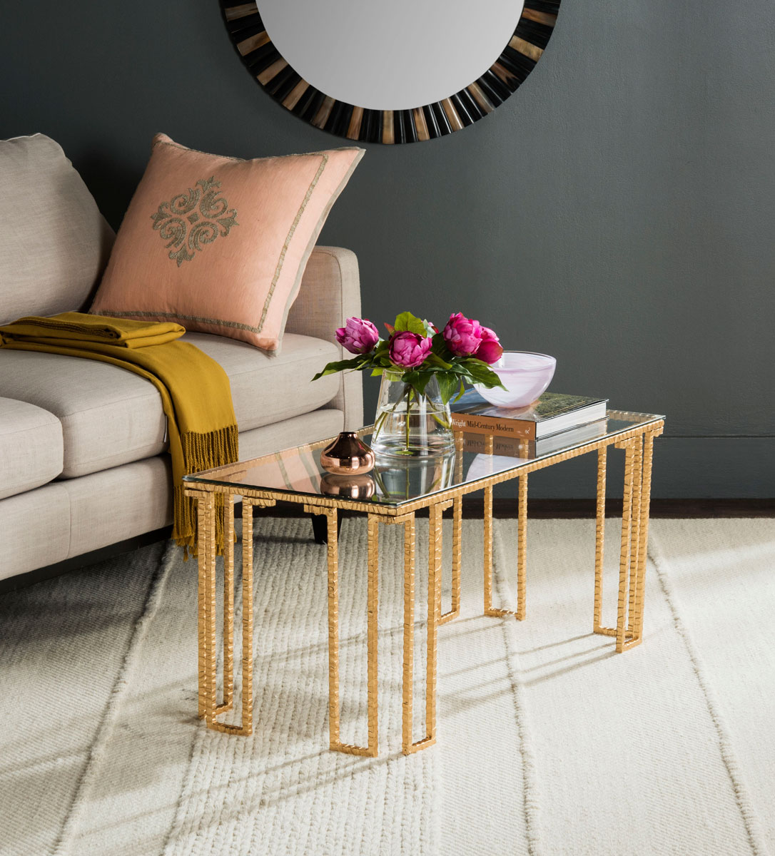 Fox2587a coffee tables furniture by safavieh coffee tables geotapseo Choice Image