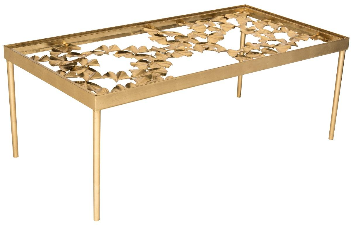 This Ginko Leaf Coffee Table Was Inspired By A Handcrafted Piece Created By  Master Goldsmiths For An Italian Princess? Tuscan Estate.