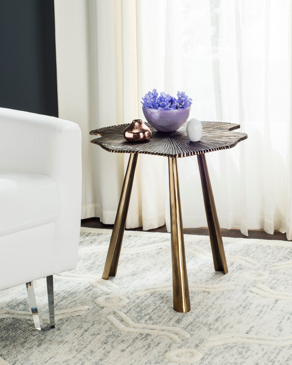 Brass Side Table   Accent Tables - Safavieh.com