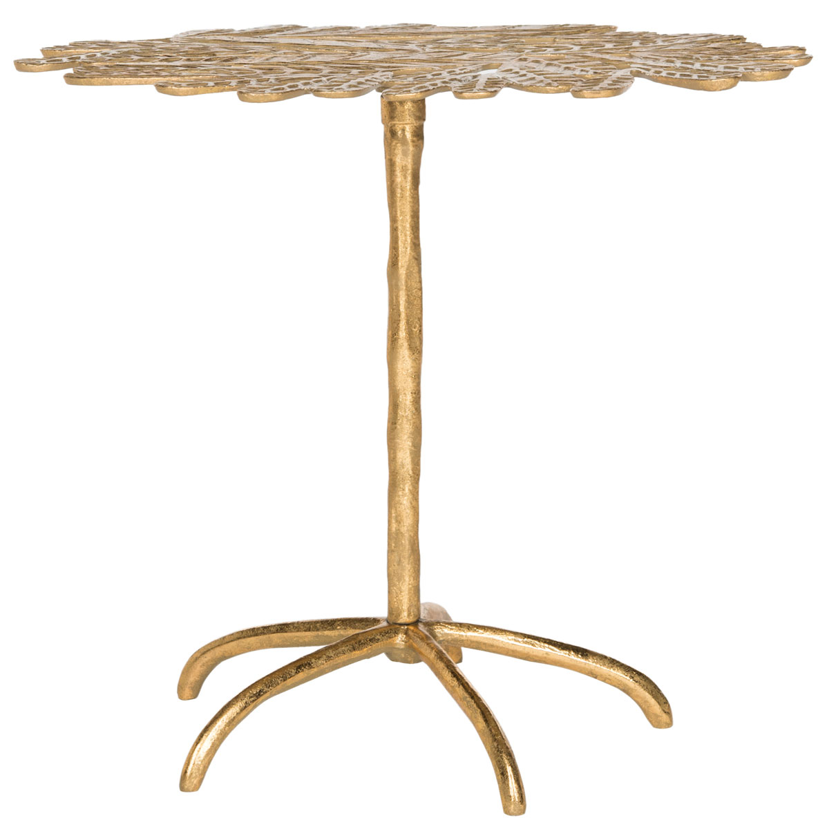 Gold Leaf Side Table Accent Tables Safavieh Com
