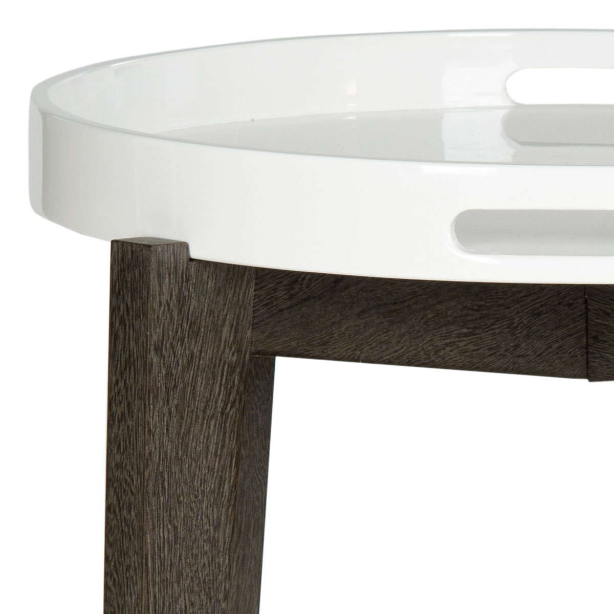 A Silent Butler For Your Home, The Ben Tray Table Is As Good Looking As It  Is Hard Working. A Removable White Lacquer Wood Tray Sits Atop A Dark Brown  Base ...