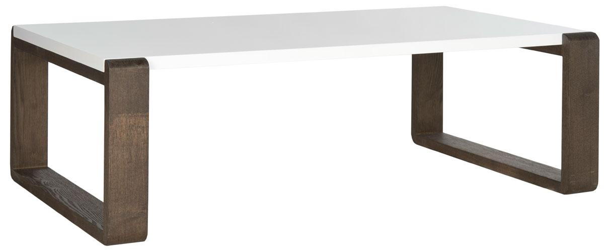 BARTHOLOMEW MID CENTURY SCANDINAVIAN LACQUER COFFEE TABLE FOX4210A COFFEE  TABLES