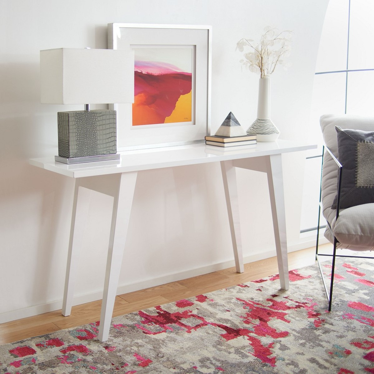 Fox4220b Consoles Furniture By Safavieh