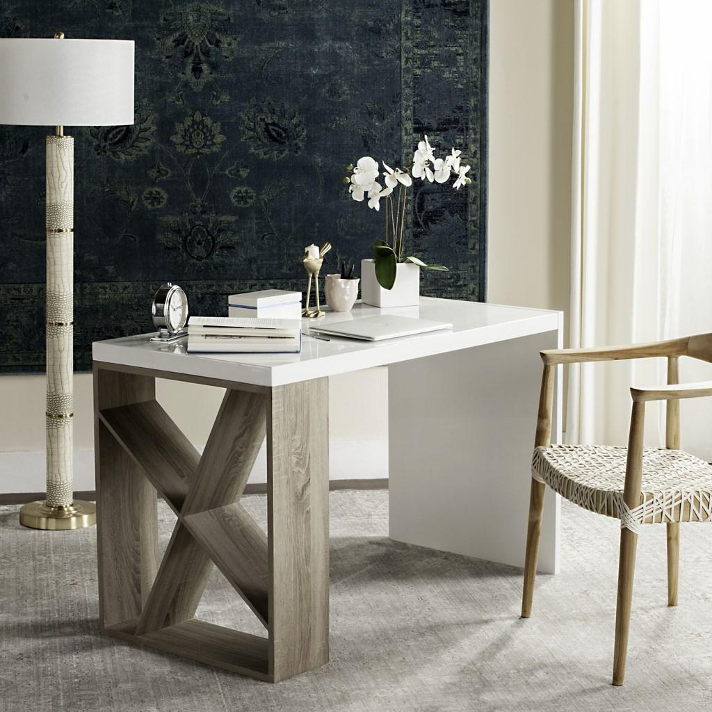 fox4235a desks furniture by safavieh