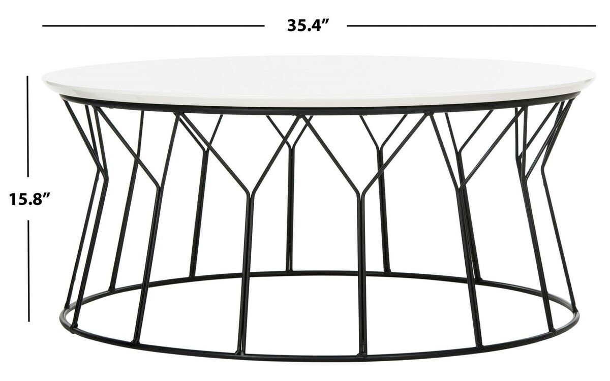 Image of: Fox4259b Coffee Tables Furniture By Safavieh