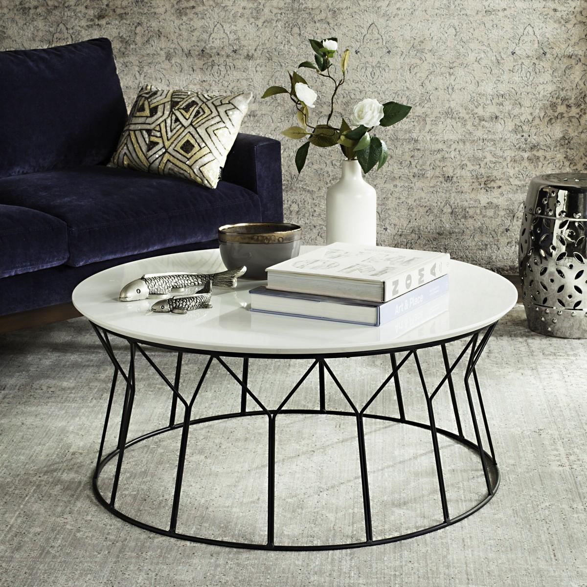 deion retro mid century lacquer coffee table fox4259b coffee tables