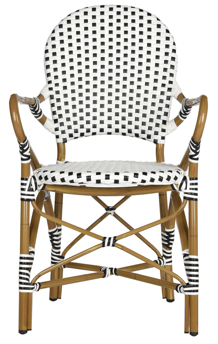 PE Wicker Armchair | Dining Chairs - Safavieh.com