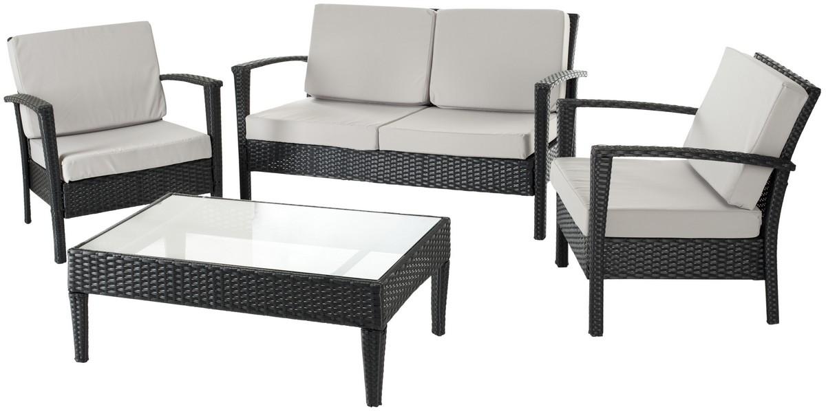 Fox6006b Outdoor Home Furnishings Patio Sets 4 Piece