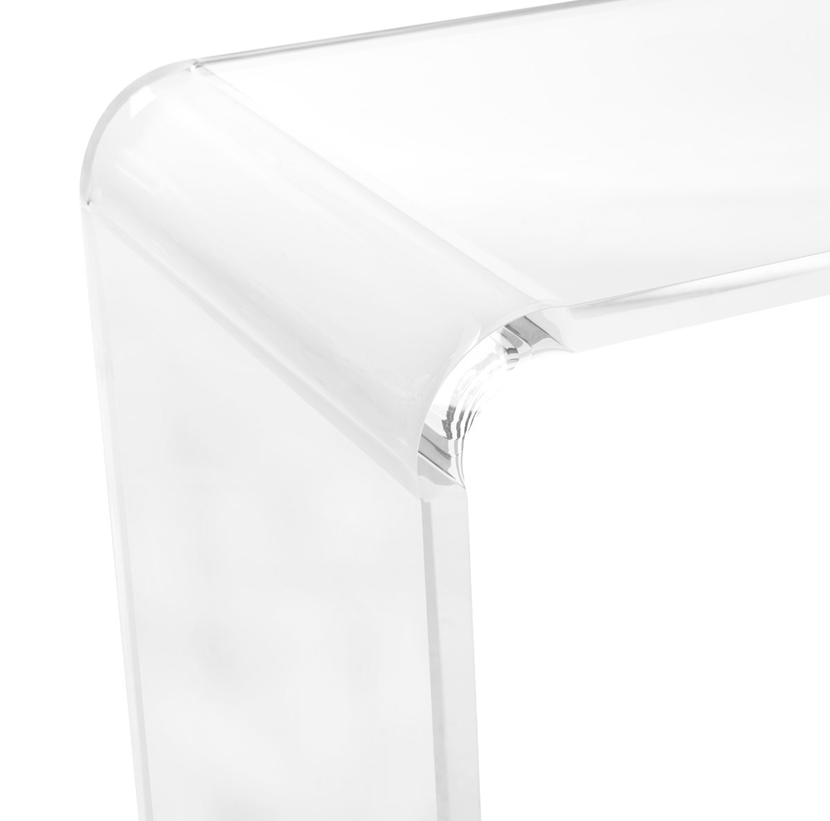 Fox6016a consoles furniture by safavieh atka acrylic console table fox6016a consoles color clear geotapseo Gallery