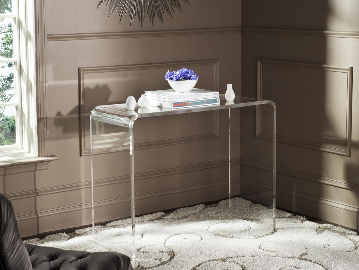 Charmant ATKA ACRYLIC CONSOLE TABLE FOX6016A CONSOLES